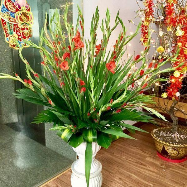 Cách cắm hoa dơn ngày tết để giữ hoa tươi lâu